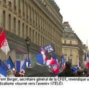 Le discours de Marine Le Pen perturbé par trois Femen