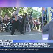 Réforme du collège: Najat Vallaud-Belkacem aurait-elle dû consulter les enseignants ?: Eric Albert –