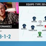 L'Equipe-Type L1 2015 de Luis Fernandez