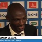 Le PSG fête son titre et rend hommage à Camara