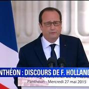 François Hollande: 70 ans après, ces haines reviennent