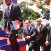 La chute de François Hollande en Haïti