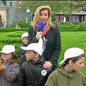 Valérie Trierweiler : « Je dis au Secours populaire: 'Merci pour ce moment!' »