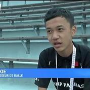 Des ramasseurs de balles chinois à Roland-Garros