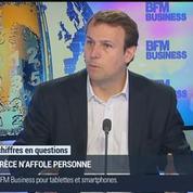 Jean-Charles Simon: Dans l'économie réelle, on ne voit aucune trace de tension liée à la crise grecque