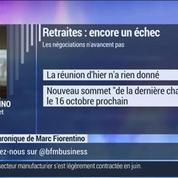 Marc Fiorentino: Retraites complémentaires: les négociations se poursuivront à l'automne