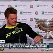Le short de Stanislas Wawrinka cartonne !