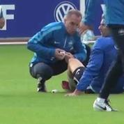La blessure d'Olivier Giroud à l'entraînement