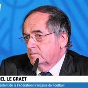 La démission de Blatter ? Une bonne décision Noël Le Graët