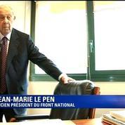 Charles Pasqua: C'était un patriote, un combattant national eurosceptique, dit Jean-Marie Le Pen
