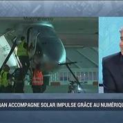 Altran accompagne Solar Impulse grâce au numérique: Pascal Brier –