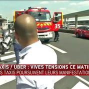 Un chauffeur de taxi renversé par un VTC à Roissy