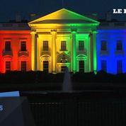 La Maison-Blanche se pare des couleurs du drapeau gay