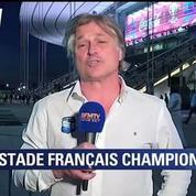 Charvet : Je ne suis pas surpris par la victoire du Stade Français