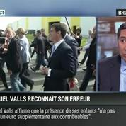 Brunet & Neumann: Voyage à Berlin: Valls va rembourser les billets de ses enfants