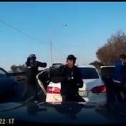 Braquage éclair d'une voiture à Johannesburg