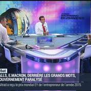 Jean-Marc Daniel: Manuel Valls refuse de faire une pause dans les réformes