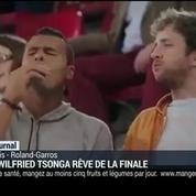 Jo-Wilfried Tsonga rêve de la finale
