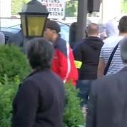 Taxis mobilisés contre UberPop: des affrontements près de la porte Maillot à Paris
