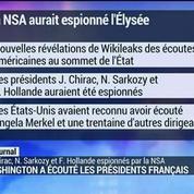 La NSA aurait espionné l'Elysée