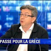 Mélenchon à Hollande sur la Grèce: Tu ne peux pas laisser faire ça