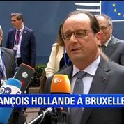Accord sur la dette grecque: Le plus tôt sera le mieux, dit Hollande