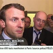 Ecoutes de la NSA : Macron appelle à une réaction