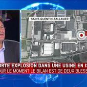 Isère : attaque dans une usine chimique, une personne décapitée