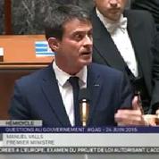 Écoutes : Valls veut «un code de bonne conduite» entre alliés
