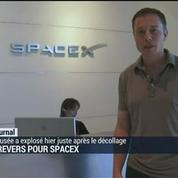 Revers pour Spacex : explosion d'une fusée au décollage