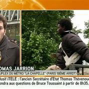 Paris : 360 personnes évacuées du camp de migrants de La Chapelle