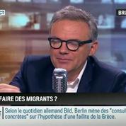 Brunet & Neumann: Que faire des migrants à Paris ?