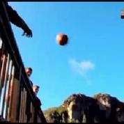 Basket : il réussit un shoot à 126 mètres du panier