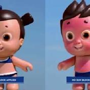 Nivea Doll la poupée pour sensibiliser les enfants aux dangers du soleil