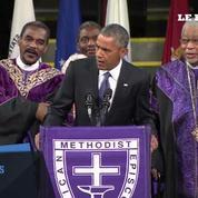 Barack Obama entonne