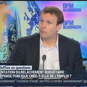 Jean-Charles Simon: Le relâchement budgétaire et la dépense publique créent-ils de l'emploi ?