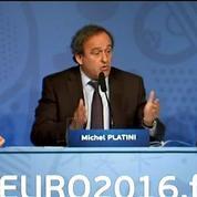 Euro 2016: Michel Platini le veut populaire et festif