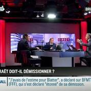 Brunet & Neumann : Démission de Blatter: Comment interpréter la réaction de Le Graët?