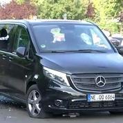 Grève taxi: VTC vandalisé et échauffourées porte Maillot