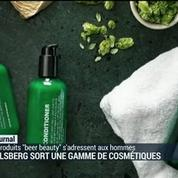 Carlsberg sort une gamme de cosmétiques