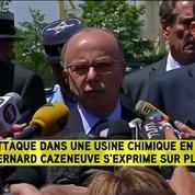 Le suspect était fiché pour radicalisation, selon Cazeneuve
