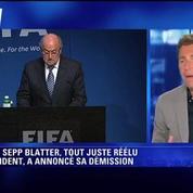 Si on tocuhe à Valcke, c'était fini pour Blatter ! Daniel Riolo