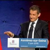 Sondages à l'Elysée: Sarkozy fait référence à la relaxe de Woerth