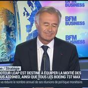 Le LEAP de Safran a atteint plus de 9500 commandes au Bourget: Philippe Petitcolin