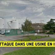 Ce que l'on sait de l'attaque dans une usine chimique en Isère