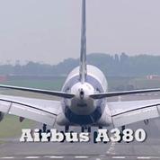 Les vols de l'A380 et de l'A350
