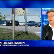 Attentat en Isère: Mélenchon appelle à faire front ensemble pour défendre notre démocratie
