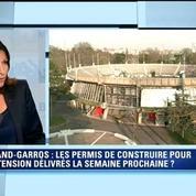 Les permis de construire du Nouveau Roland-Garros sont signés, annonce Hidalgo