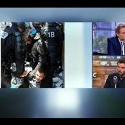 Evacuation de migrants: Je me suis fait moi-même violenter par les policiers