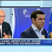 Grèce: c'est une gifle ces négociations rompues de manière unilatérale, dit Sapin